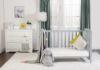 4歳までベッド『カプリ』ライトグレー